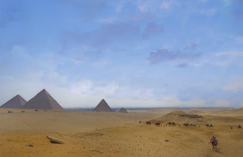 Plateau di Giza immagini stock libere da diritti