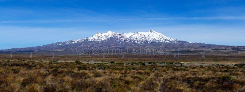 Plateau di Ruapehu immagini stock libere da diritti