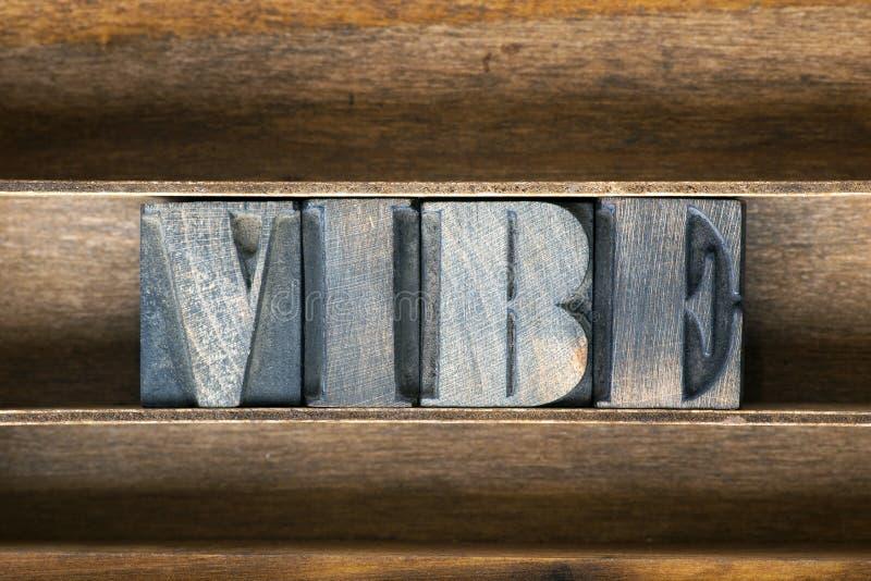 Plateau en bois de Vibe photo libre de droits