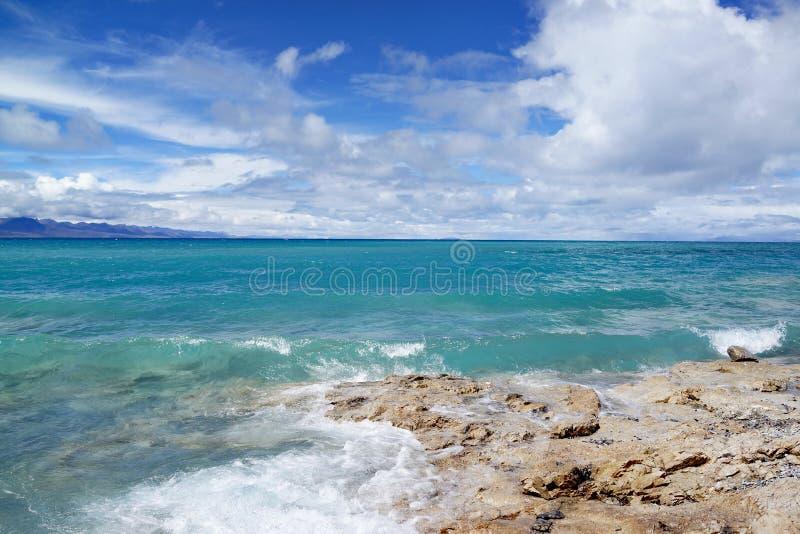 Plateau jezioro fotografia stock