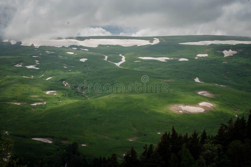 Plateau Lago Naki immagine stock