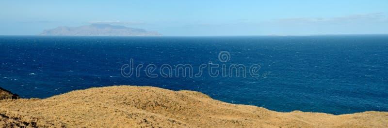 Plateau, Oceaan en Brava royalty-vrije stock foto