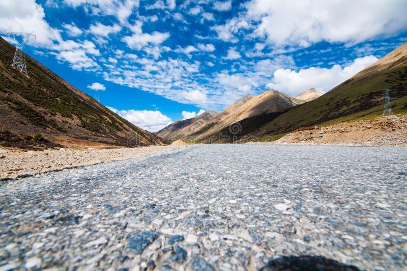 Plateau tibetano immagini stock