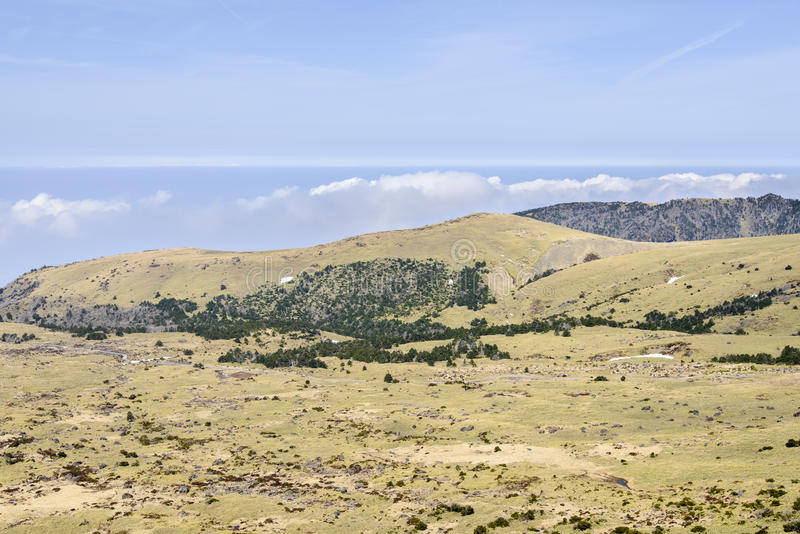 Download Plateau Widok Od Witse-Oreum W Yeongsil Obraz Stock - Obraz złożonej z trawy, warstwa: 53787253