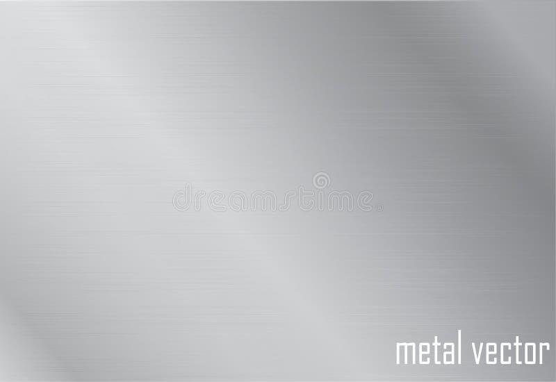 Plateer staal stock illustratie
