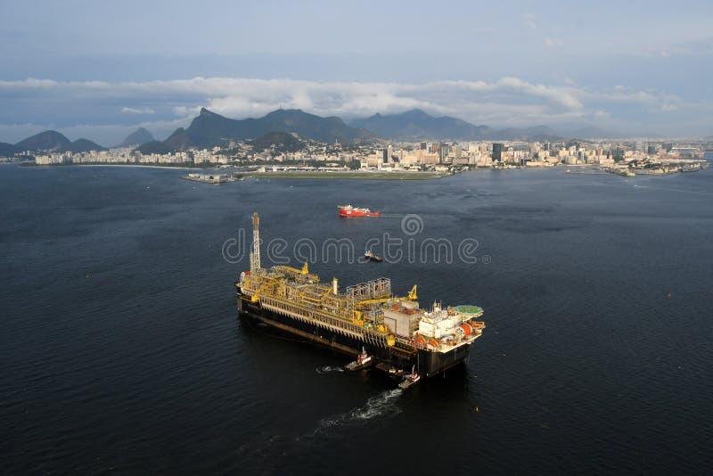 Plateforme pétrolière P67 photographie stock