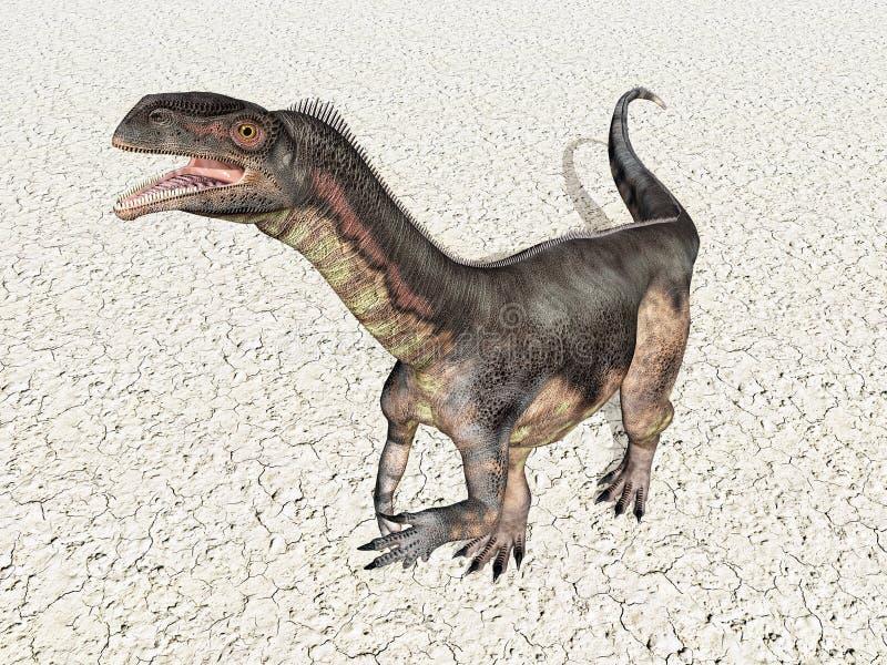 plateosaurus δεινοσαύρων απεικόνιση αποθεμάτων