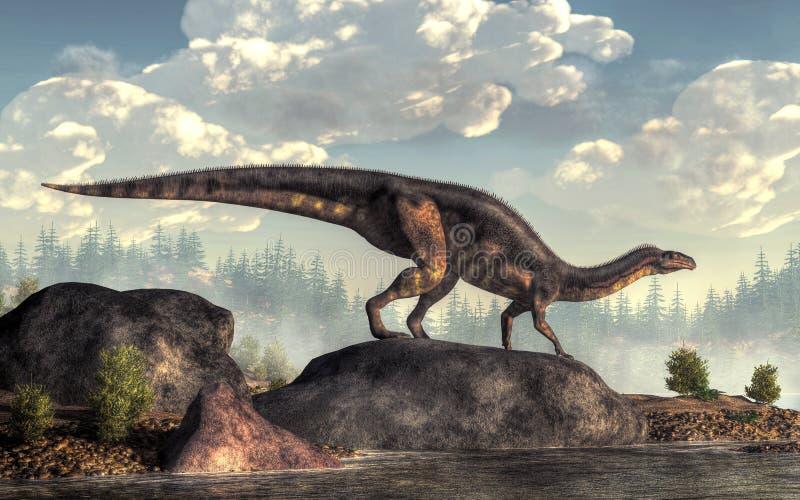 Plateosaurus ελεύθερη απεικόνιση δικαιώματος