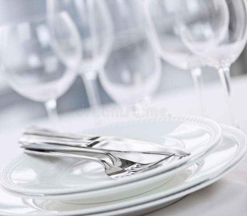 Plates and cutlery