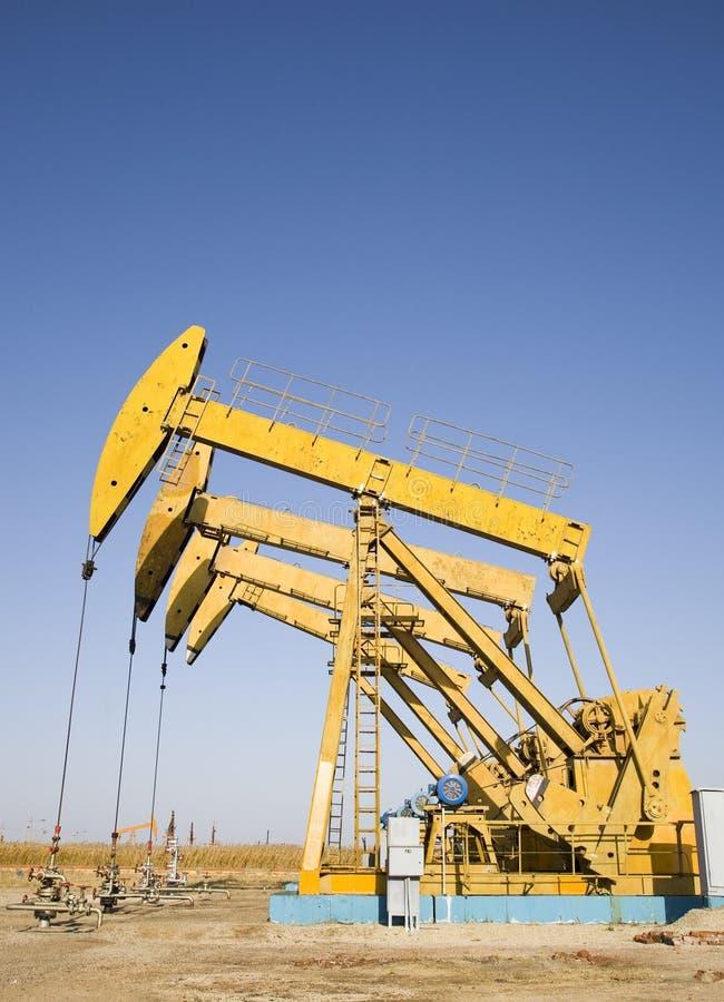 Plates-formes pétrolières photos libres de droits
