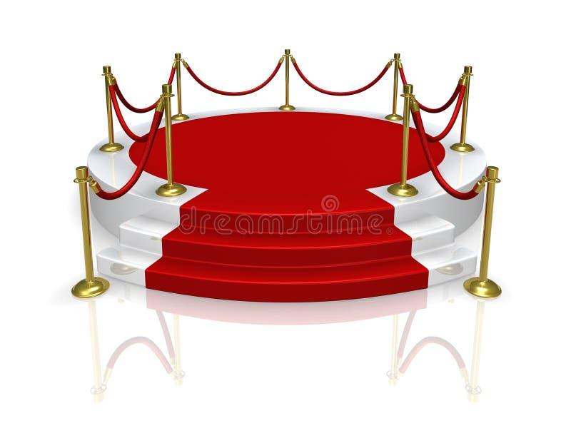 Platform stock illustration