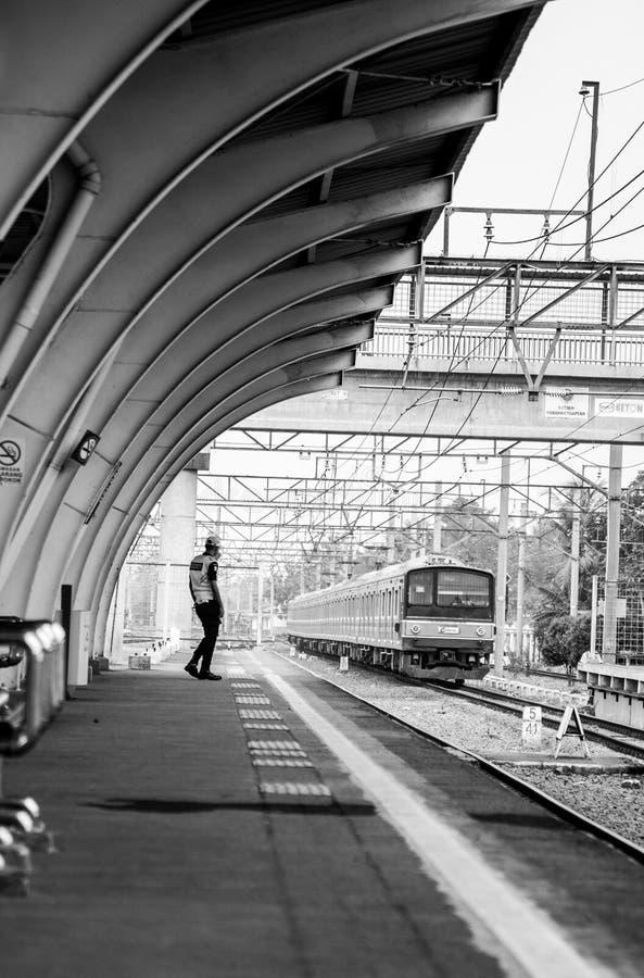 The Platform Man stock images