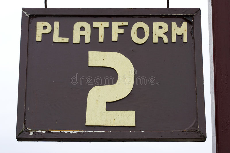 Download Platform Sign Stock Photo - Image: 235310