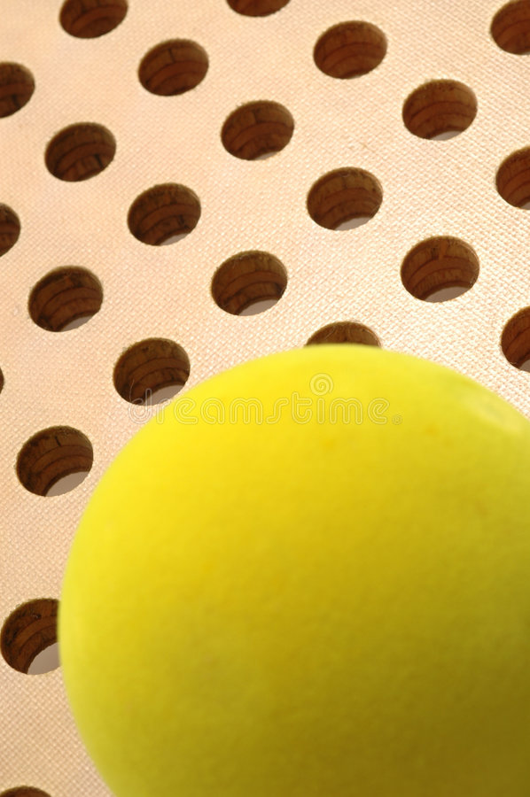 Free Platform Tennis Paddle And Ball Stock Photos - 456013