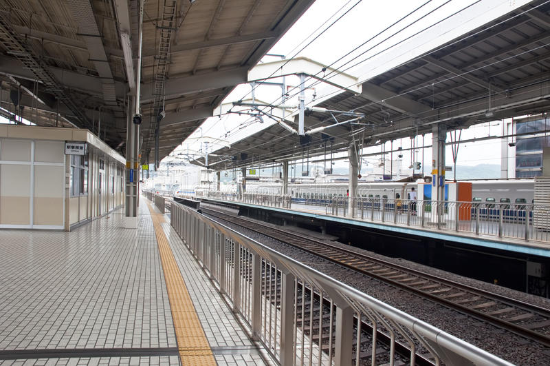 Platforms at Kyoto Station