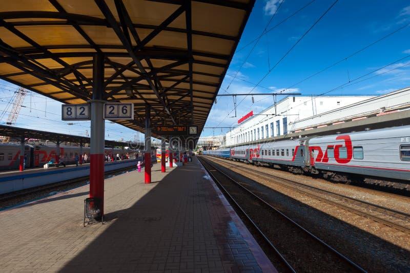 Download Platforms In Moskovsky Rail Terminal Editorial Photo - Image: 25884636
