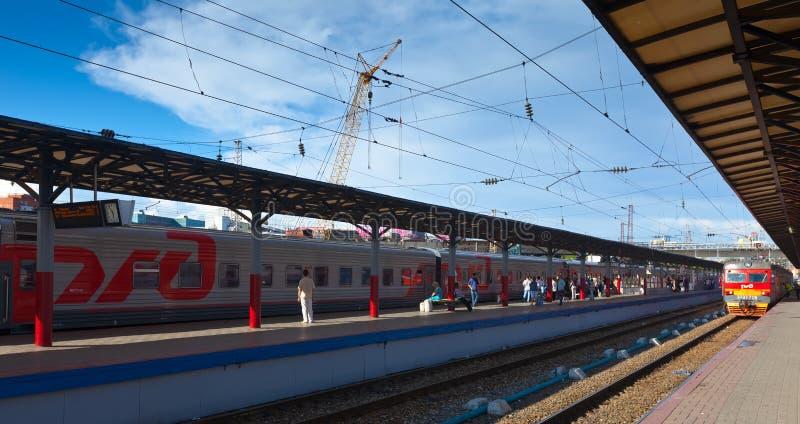 Download Platforms In Moskovsky Rail Terminal Editorial Photo - Image: 26661881