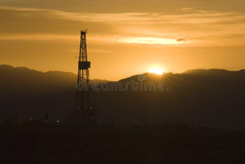 platformy wschód słońca zdjęcia stock