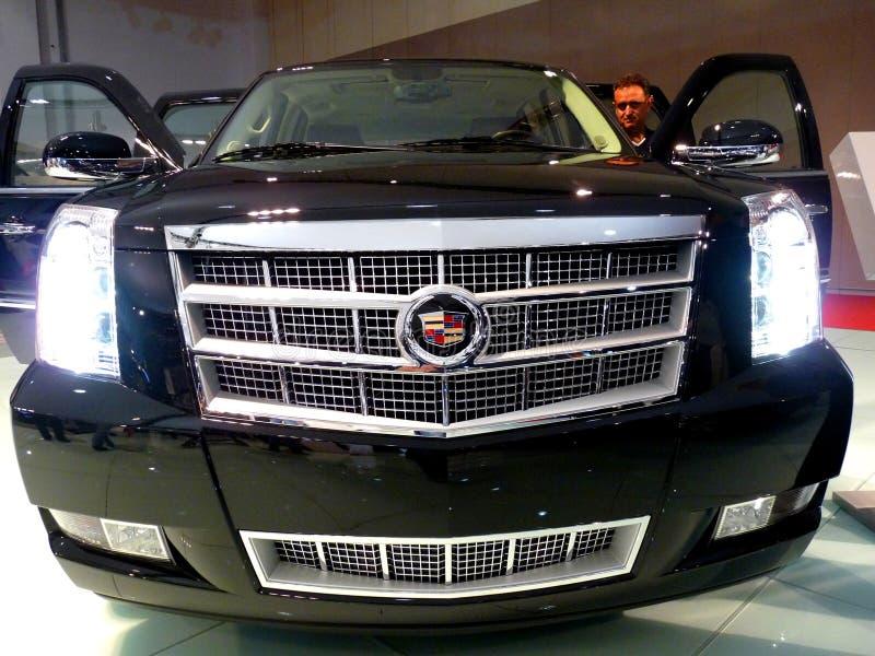 Platina de Cadillac Escalade imagem de stock