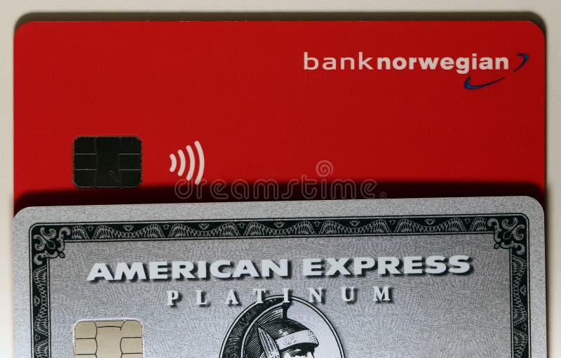 Platina do Amex de American Express imagem de stock royalty free