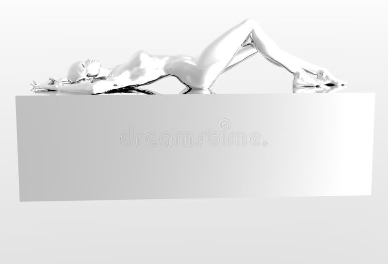 Platinum Girl Stock Photography