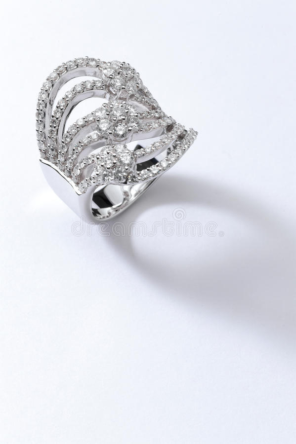 Platinum Ring stock photos