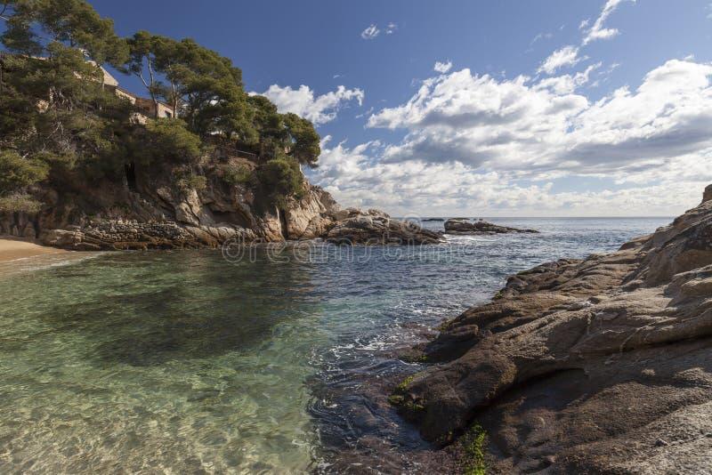 Platja Aro, Catalonia, Hiszpania zdjęcia royalty free