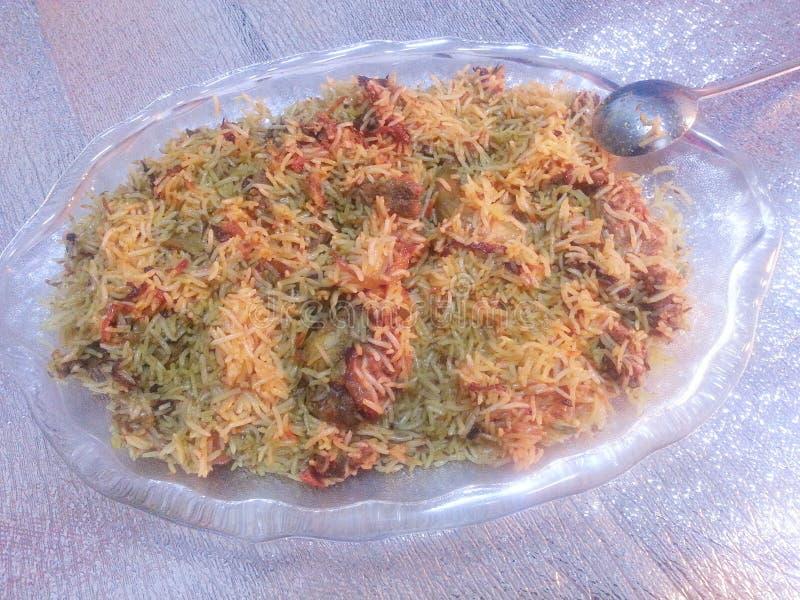 Plato cocinado Special del arroz fotos de archivo
