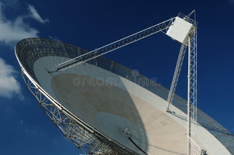Plato de la antena de radio. Primer. imagenes de archivo
