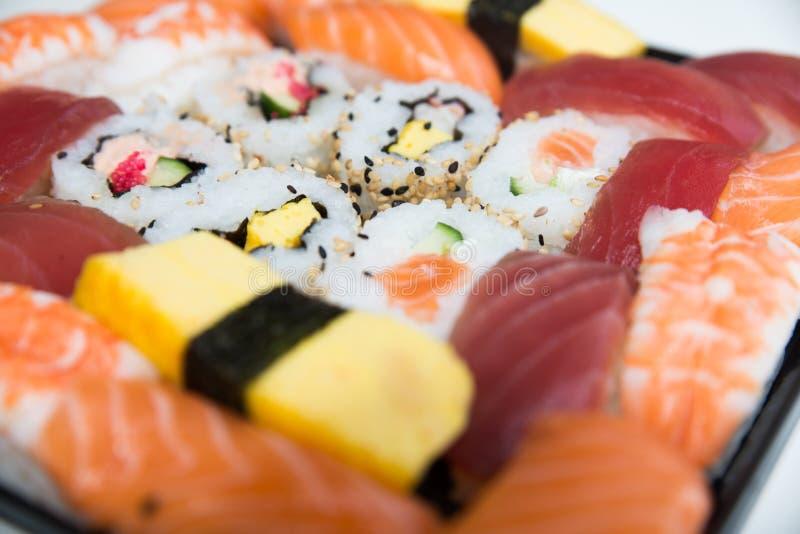 Plato del sushi imagen de archivo