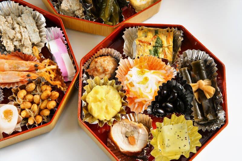 Plato japonés del Año Nuevo fotografía de archivo libre de regalías