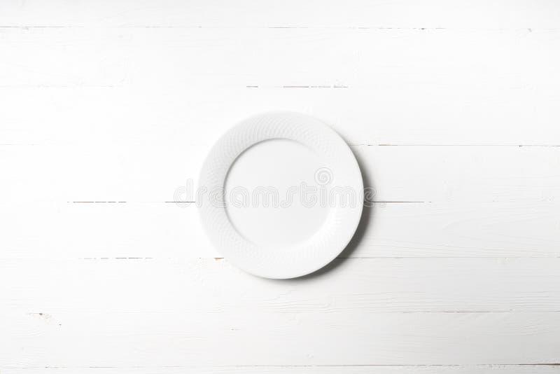 Plato vacío foto de archivo
