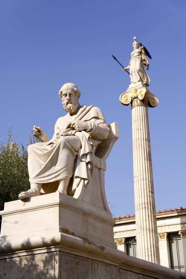 Platon imagenes de archivo