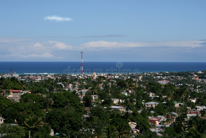 Platon dominican puerto republiki fotografia royalty free