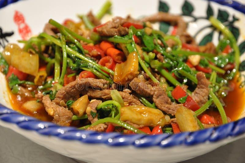 Platos huang de la carne de vaca fotos de archivo