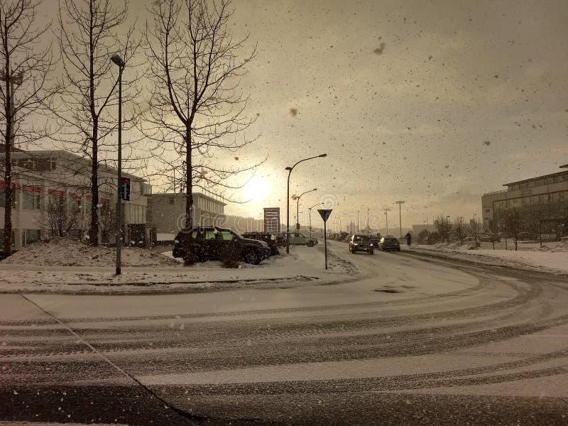 Plats av ReykjavÃk arkivbilder