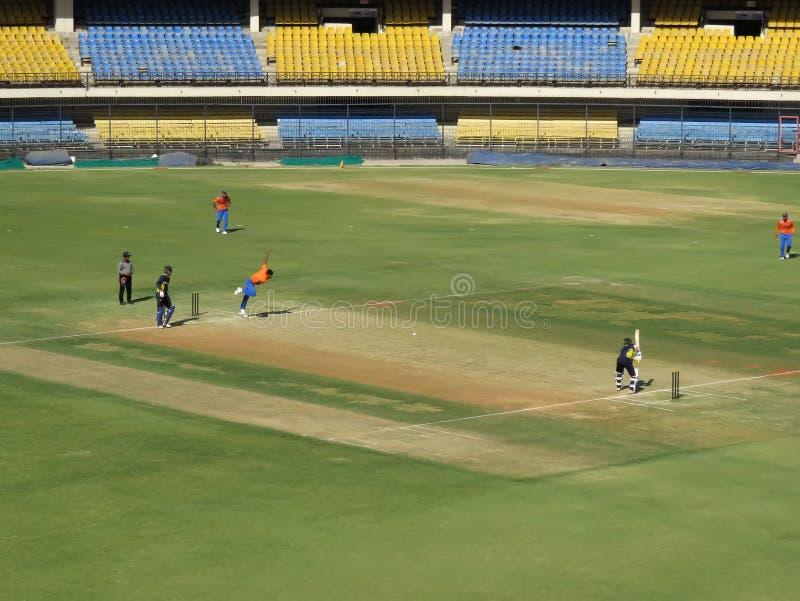 Plats av syrsamatchen i Indien royaltyfri fotografi