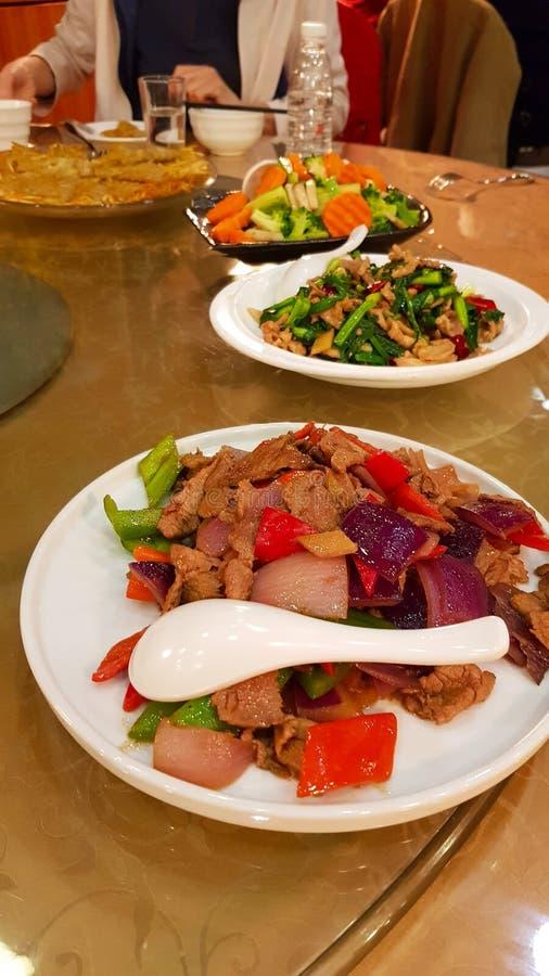 Plats de cuisine de Yunnan de Chinois, Chine images stock