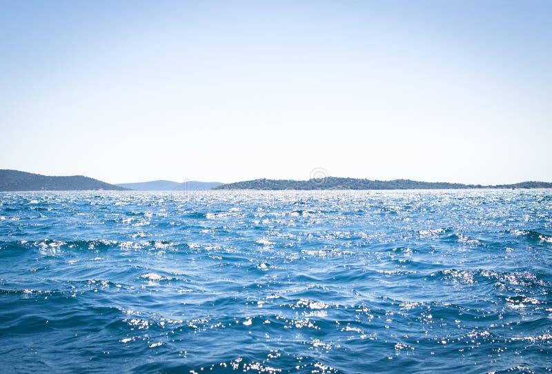 Plats för öppet hav arkivfoton
