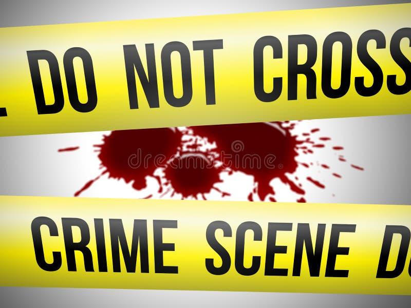 plats för 3 brott stock illustrationer