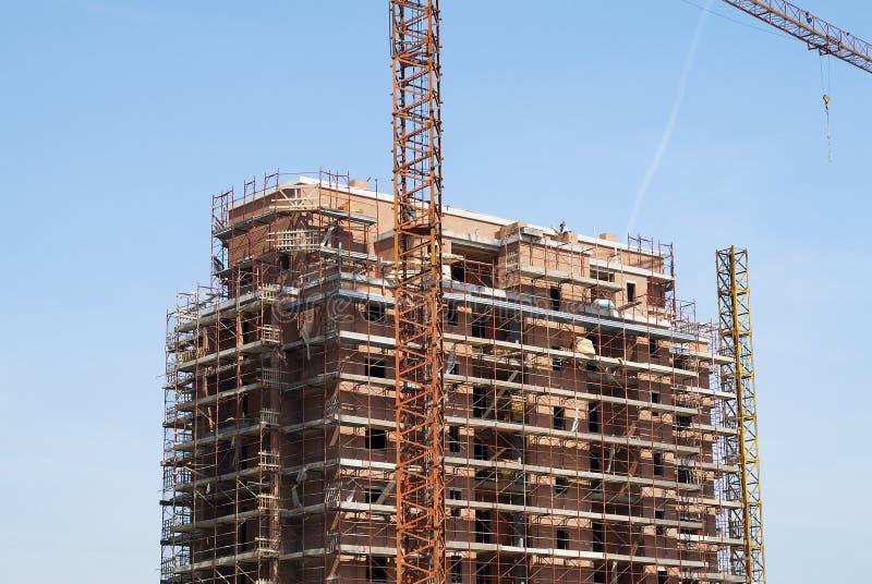 Plats för bostads- konstruktion royaltyfria foton