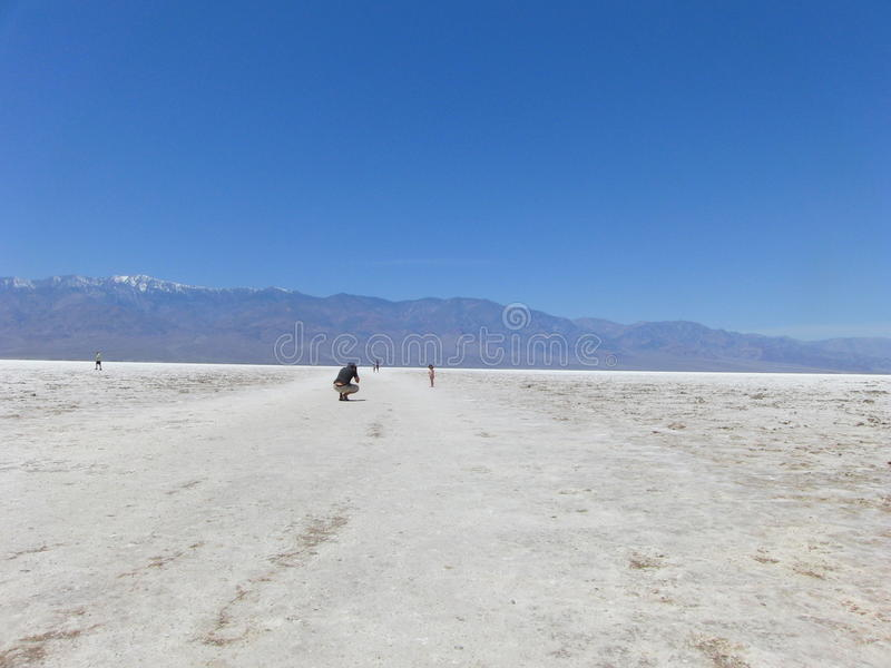 Plats på Death Valley, Nevada arkivbild
