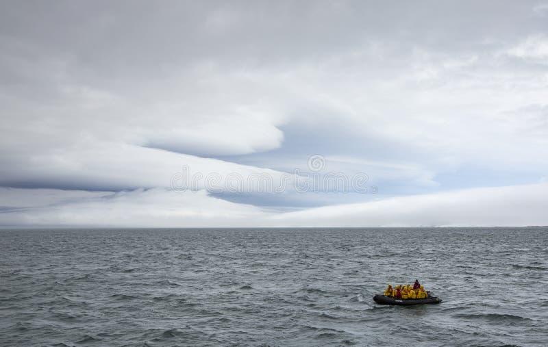 Platser av Svalbard royaltyfria bilder