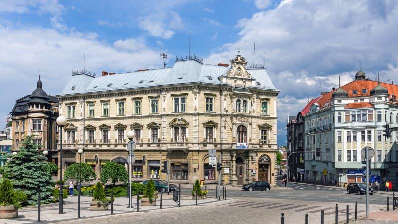Platser från Bielsko-Biala royaltyfri foto