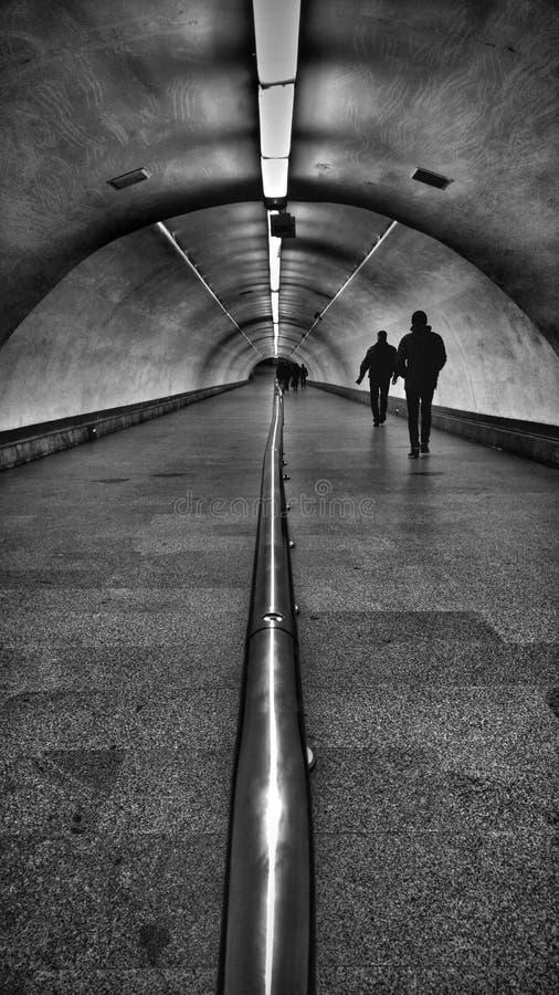Platser från den Kyiv tunnelbanan arkivfoton