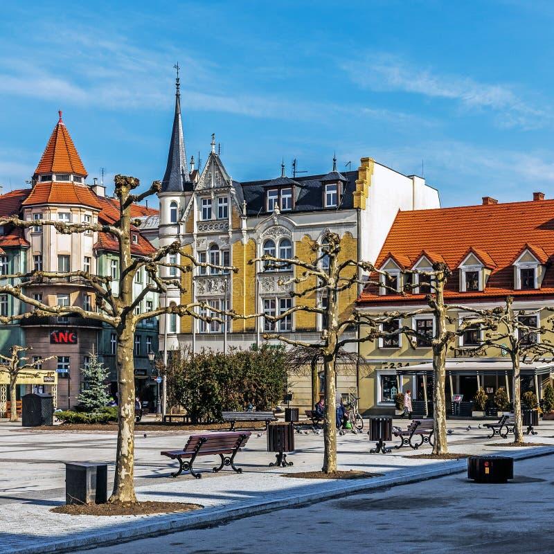 Platser från Pszczyna fotografering för bildbyråer