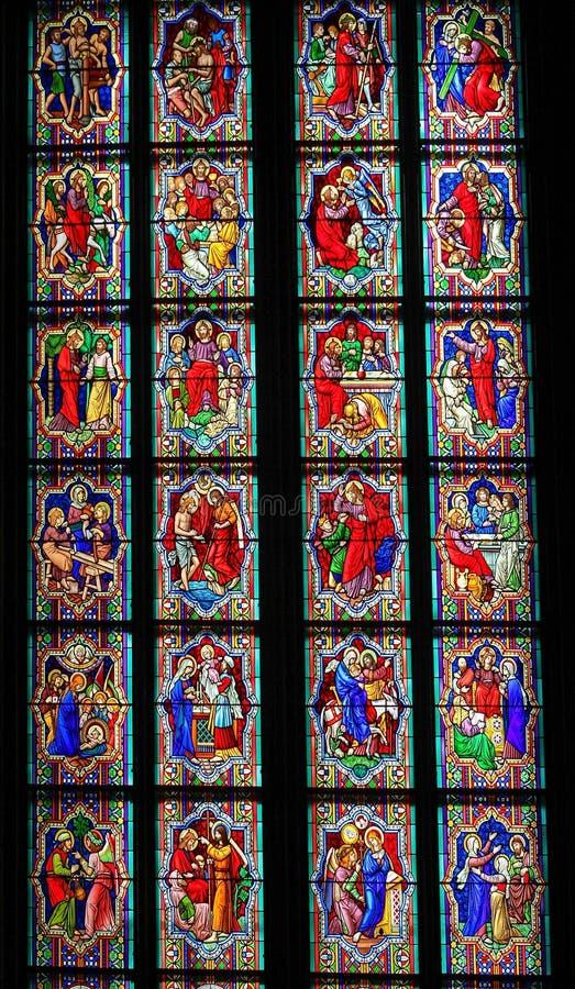 Platser i livet av Jesus Christ arkivfoto