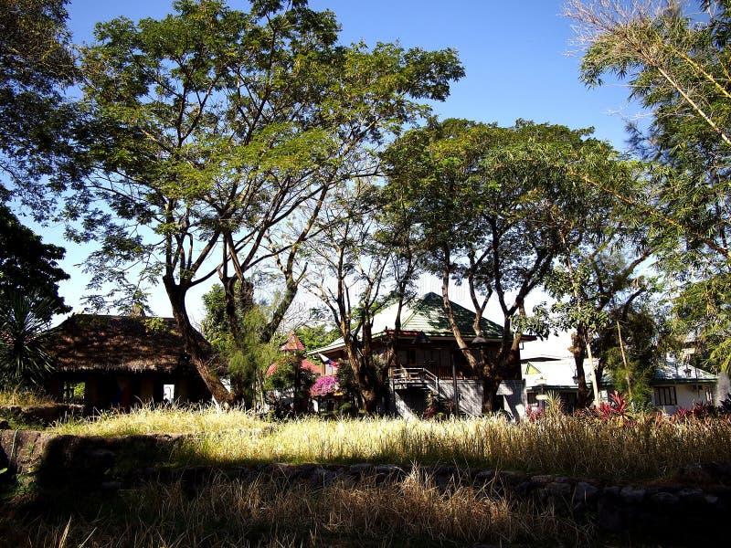 Platser och dragningar inom Nayongen Pilipino på Clark Field i Mabalacat, Pampanga royaltyfria bilder