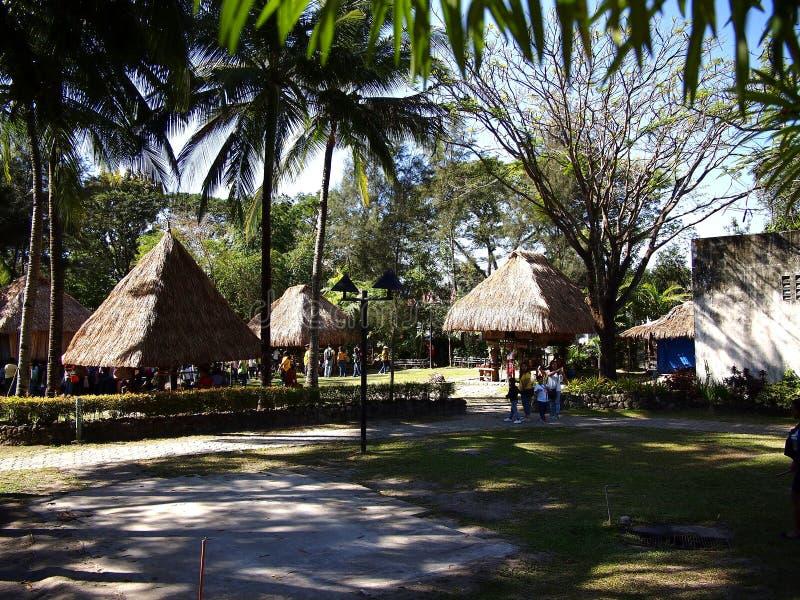 Platser och dragningar inom Nayongen Pilipino på Clark Field i Mabalacat, Pampanga royaltyfria foton