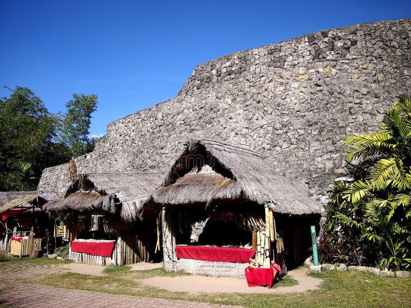 Platser och dragningar inom Nayongen Pilipino på Clark Field i Mabalacat, Pampanga royaltyfri foto